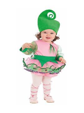 disfraz de ninfa del bosque para bebe