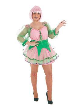 disfraz de ninfa del bosque para mujer