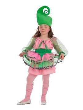 disfraz de ninfa del bosque para niña