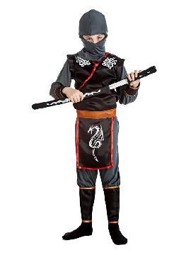 disfraz de ninja dragon niño
