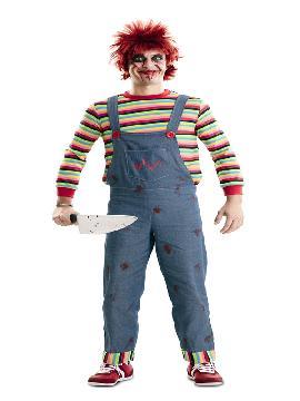 disfraz de niño chucky poseído hombre