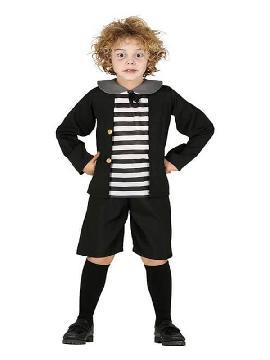 disfraz de niño addams para niño