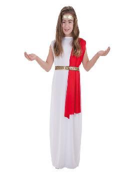 disfraz de noble romana para niña