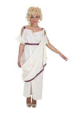 disfraz de noble romana polux para mujer
