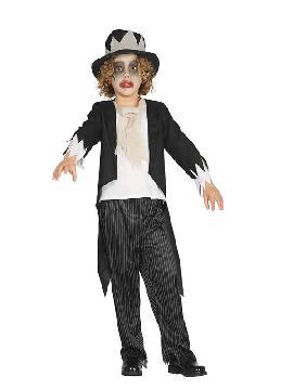 disfraz de novio ghost groom niño
