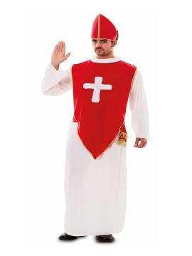 disfraz de obispo barato hombre