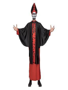 disfraz de obispo siniestro para hombre