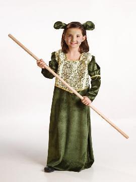 disfraz de ogresa fiona para niña