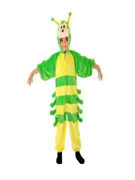 disfraz de oruga para niño
