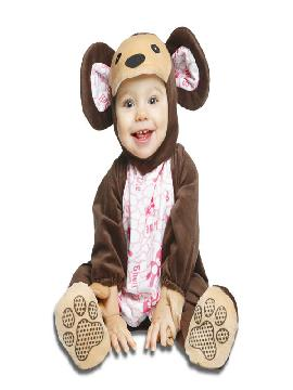 disfraz de osito con abejitas para bebe