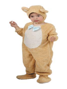 Disfraz de osito mimoso para bebé. Es ideal para que los pequeños de la familia se sientan auténticos animales fuertes y feroces en sus fiestas de disfraces. Este disfraz es ideal para tus fiestas temáticas de animales para infantil. fabricacion nacional