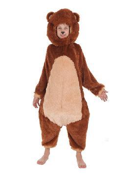 disfraz de oso barriguita para nino