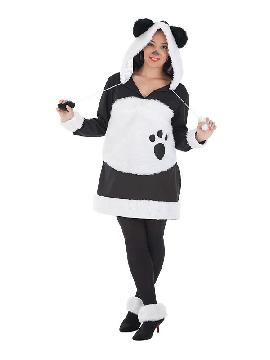 disfraz de oso panda mimosa mujer