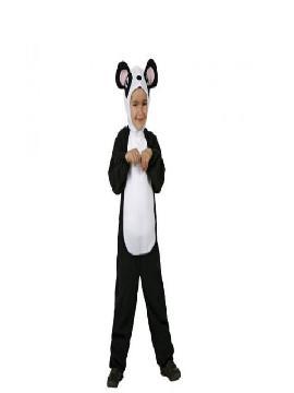 disfraz de oso panda niño infantil. Podrás convertir a los pequeños en tímidos, tiernos y cariñosos animalitos en tus fiestas de disfraces. Este disfraz es ideal para tus fiestas temáticas de animales para infantil.  (Puede variar la cabeza)