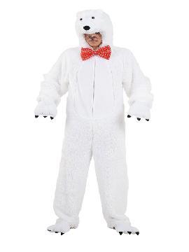 disfraz de oso polar deluxe adulto varias tallas