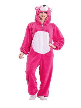 disfraz de oso rosa para mujer