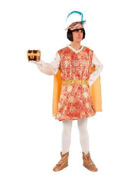 disfraz de paje real melchor para hombre