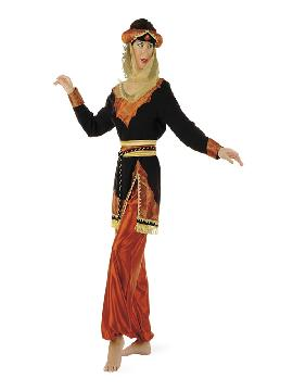 disfraz de paje jazmin mujer