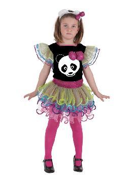 disfraz de panda fashion para niña