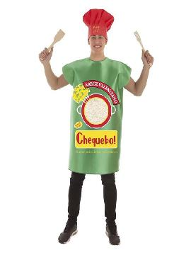 disfraz de paquete de arroz para adultos