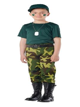 disfraz de paramilitar para infantil