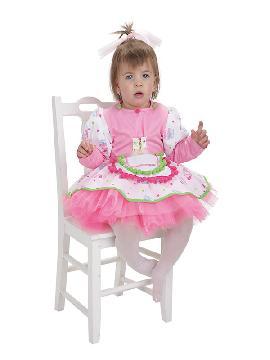 disfraz de pastelera cupcake para bebe