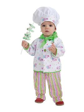 disfraz de pastelero cupcake para bebe