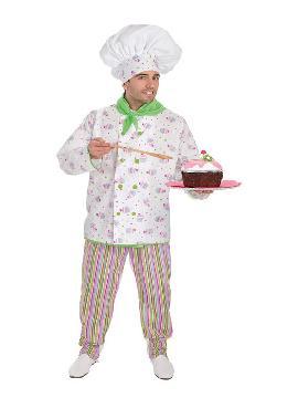 disfraz de pastelero cupcake para hombre