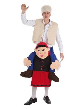 disfraz de pastor a hombros de pastora para hombre