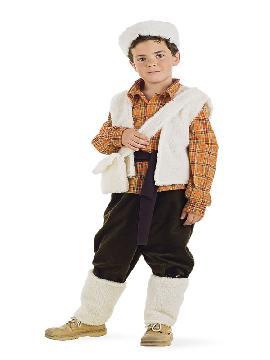 disfraz de pastor deluxe para niño