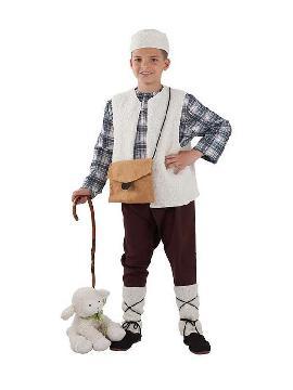 disfraz de pastor niño infantil