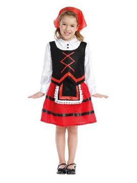 disfraz de pastora barata para niña