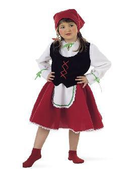 disfraz de pastora deluxe para niña