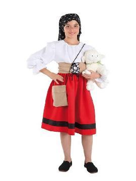 disfraz de pastora niña infantil