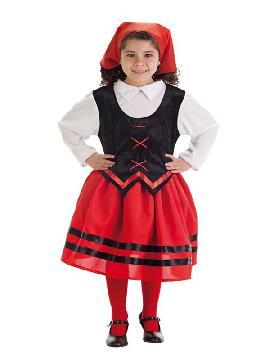disfraz de pastorcilla economico para niña