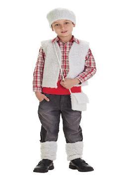 disfraz de pastorcillo economico para niño