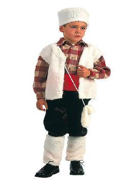disfraz de pastorcillo rustico para niño