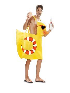disfraz de patito de ducha para hombre