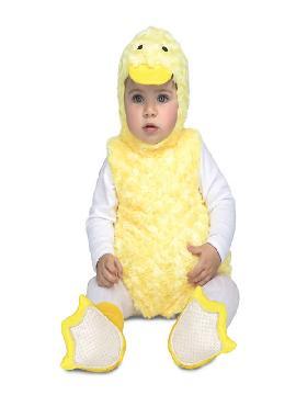 disfraz de patito peluche para bebe
