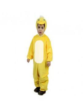disfraz de pato amarillo infantil. Compra tu disfraz barato y podrás montar tu propio corral de animales sin salirte de casa, en fiestas temáticas y fin de curso.