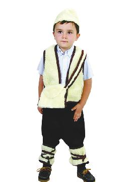 disfraz de pastor niño economico