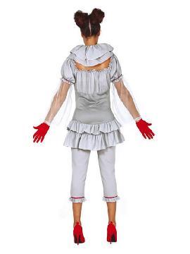 disfraz de payasa asesina para mujer