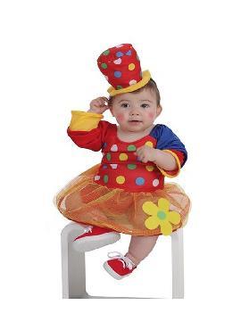disfraz de payasa pepona para bebe