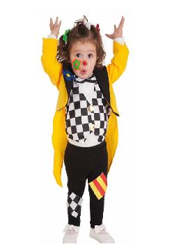 disfraz de payaso alegre para bebe