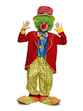 disfraz de payaso colorin para niño