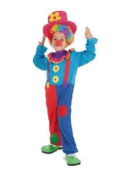 disfraz de payaso crispy para niño