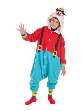 disfraz de payaso divertido para niños