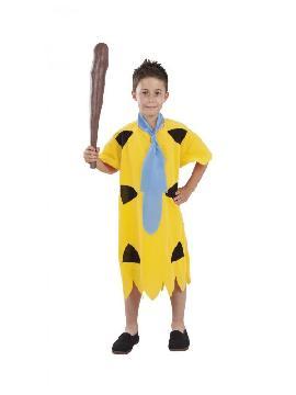 disfraz de pedro picapiedra amarillo niño