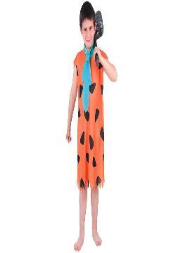 disfraz de pedro picapiedra para niños infantiles. Este comodísimo traje es perfecto para carnavales, espectáculos, cumpleaños y tambien para las fiesta de los colegios. Este disfraz es ideal para tus fiestas temáticas de disfraces de personajes de television.
