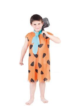 disfraz de pedro picapiedra para niño